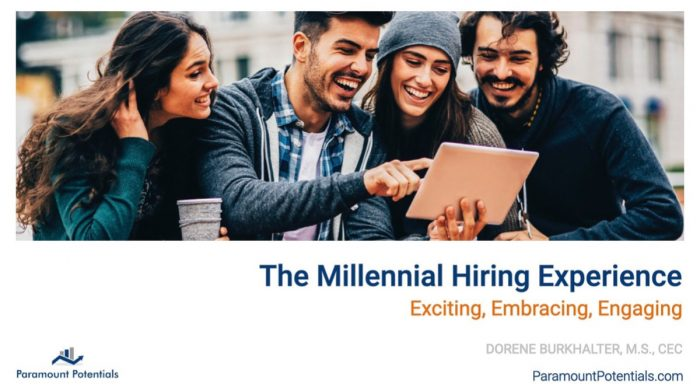 Webinar - Become a Millennial Employer of Choice