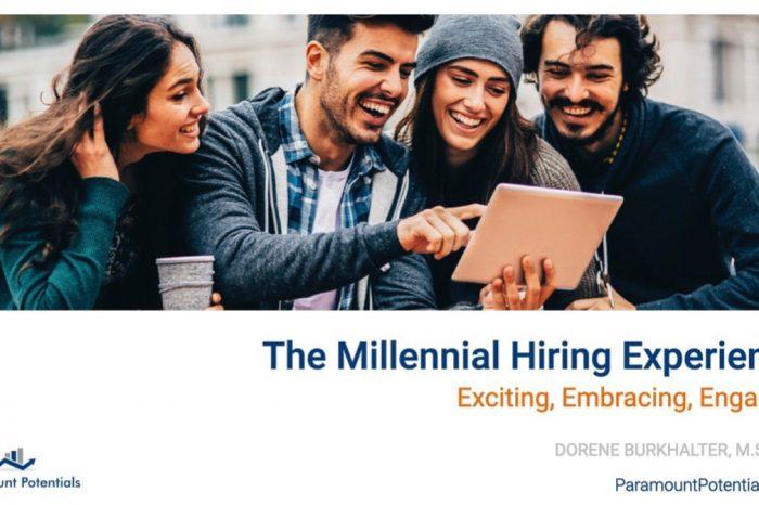 Webinar - Become a Millennial Employer of Choice